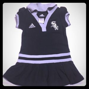 Adidas White  SOX baby dress 👗